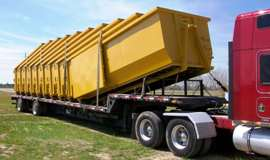 Taking Deliver of 10 Dumpsters