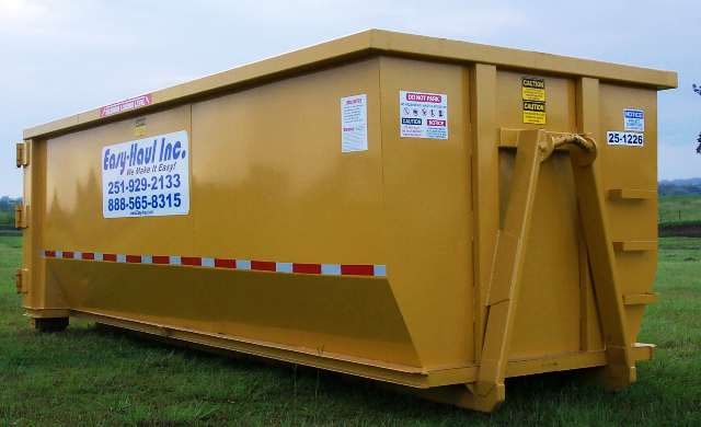 27 Yard Waste Container