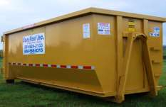 27 Cubic Yard Roll Off Dumpster Waste Container
